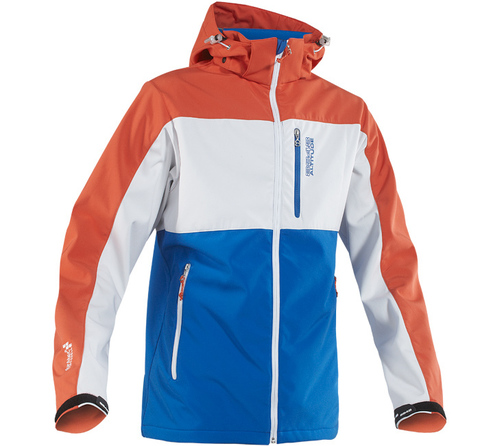 Куртка лыжная 8848 Altitude - Neptun softshell blue мужская