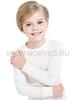 Терморубашка из шерсти мериноса Norveg Soft Offwhite детская