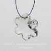 6704 Подвеска Сваровски Снежинка Crystal (20 мм) ()