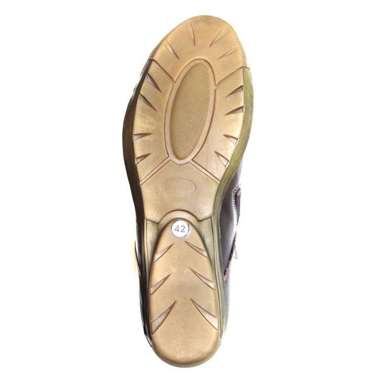 502381 полуботинки женские больших размеров марки Делфино