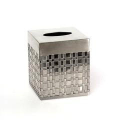 Салфетница Avanti Basketweave Silver