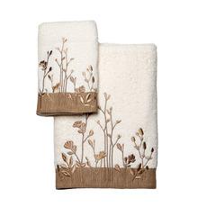 Полотенце 41х76 Avanti Floral Fields слоновой кости