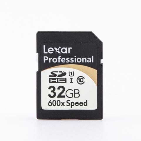 SDHC I 32 Gb Lexar Professional 600x