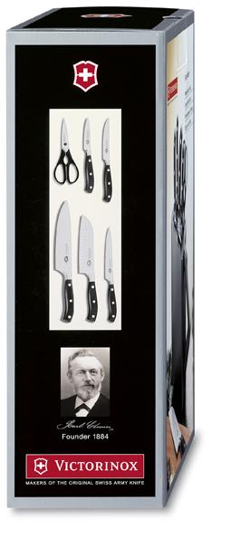 """Набор Victorinox кухонный """"Grand Maitre"""", 6 предметов, в подставке"""
