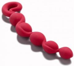 Анальная цепочка Bendybeads (26,5х3,5 см)