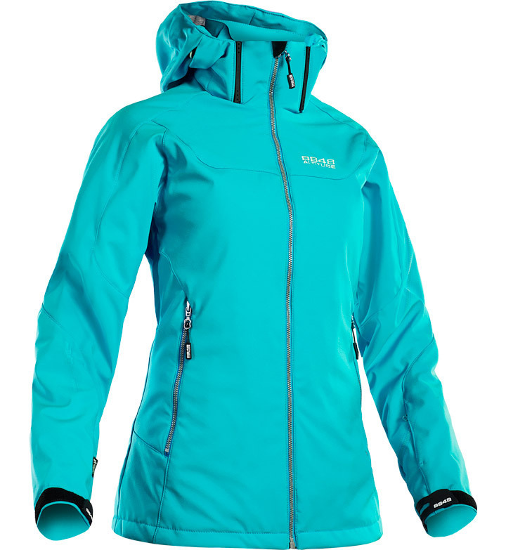Горнолыжная куртка 8848 Altitude Lopez Softshell Turquoise голубая