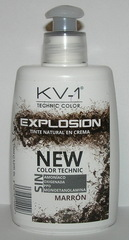 Tinte Explosion Marron тонирующая маска для волос - глубокий яркий шатен
