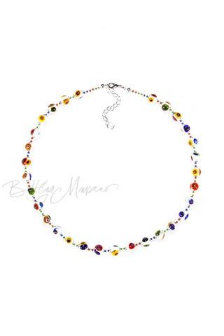 Ожерелье Murrina белое