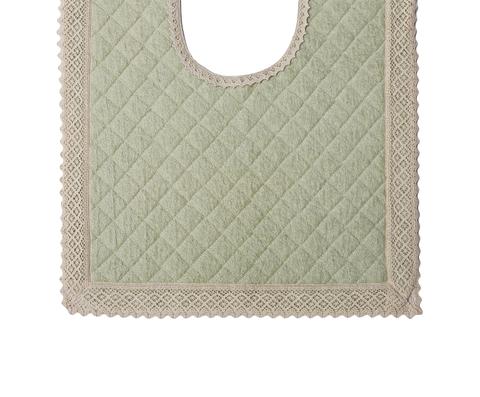 Элитный коврик для унитаза Rombetti зеленый от Old Florence