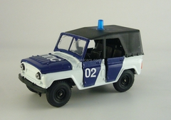 UAZ-469 DPS Road Police 1:43 Agat Mossar Tantal