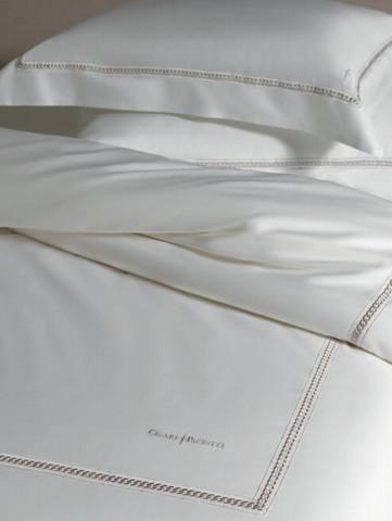 Постельное белье 2 спальное Cesare Paciotti Catena белое