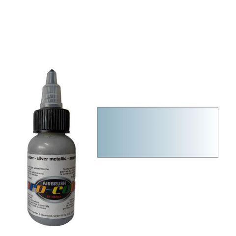 63062 Краска для аэрографии Pro-Color Silver Metallic (СЕРЕБРО) 30мл. металлик