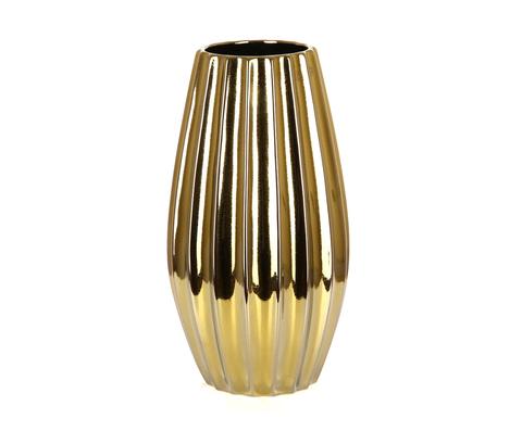 Элитная ваза декоративная Lavanda золотая от Sporvil