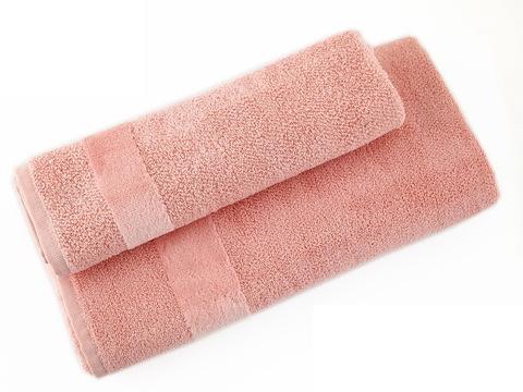 Полотенце 100х160 Carrara Fyber светло-розовое