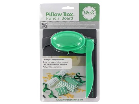 Доска для изготовления коробочек и бонбоньерок  Pillow Box Punch Board