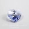 6202/6228 Подвеска Сваровски Сердечко Provence Lavender (14,4х14 мм)
