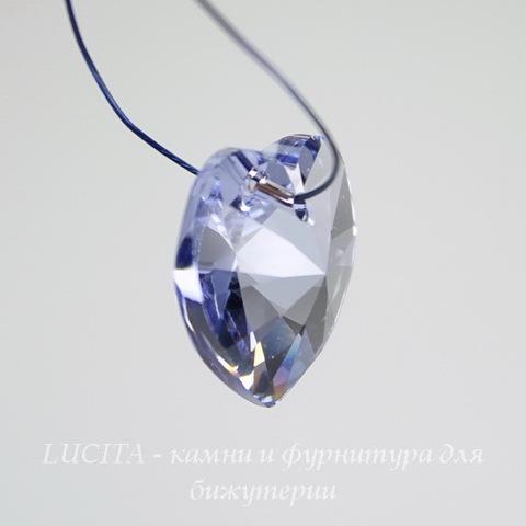 6228 Подвеска Сваровски Сердечко Provence Lavender (14,4х14 мм) ()