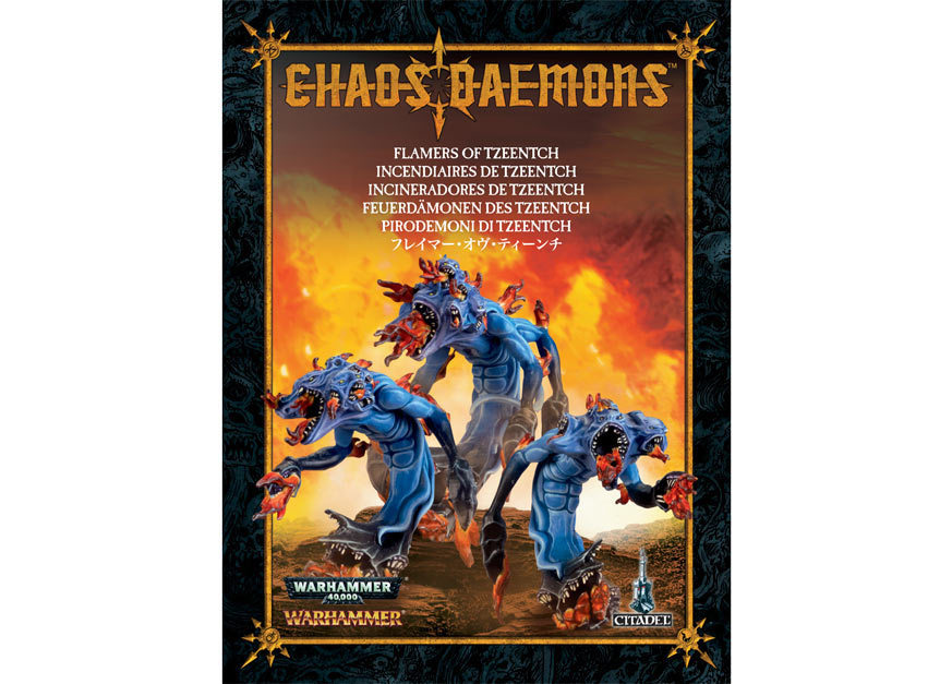 flamers of tzeentch Пламен�ики Тзин�а