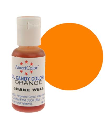 Краска для шоколада AmeriColor  ORANGE, 19 гр.