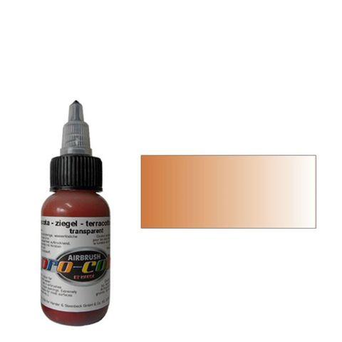64077 Краска для аэрографии Pro-Color Terracotta (ТЕРРАКОТОВЫЙ) 30мл. прозрачный