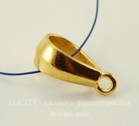 "Бейл TierraCast ""Классика"" 18х6 мм (цвет-золото)"