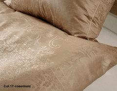 Элитный пододеяльник Legende коричневый от Elegante