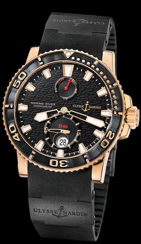 Купить Наручные золотые часы Ulysse Nardin 266-33-3C-922 Marine Diver по доступной цене
