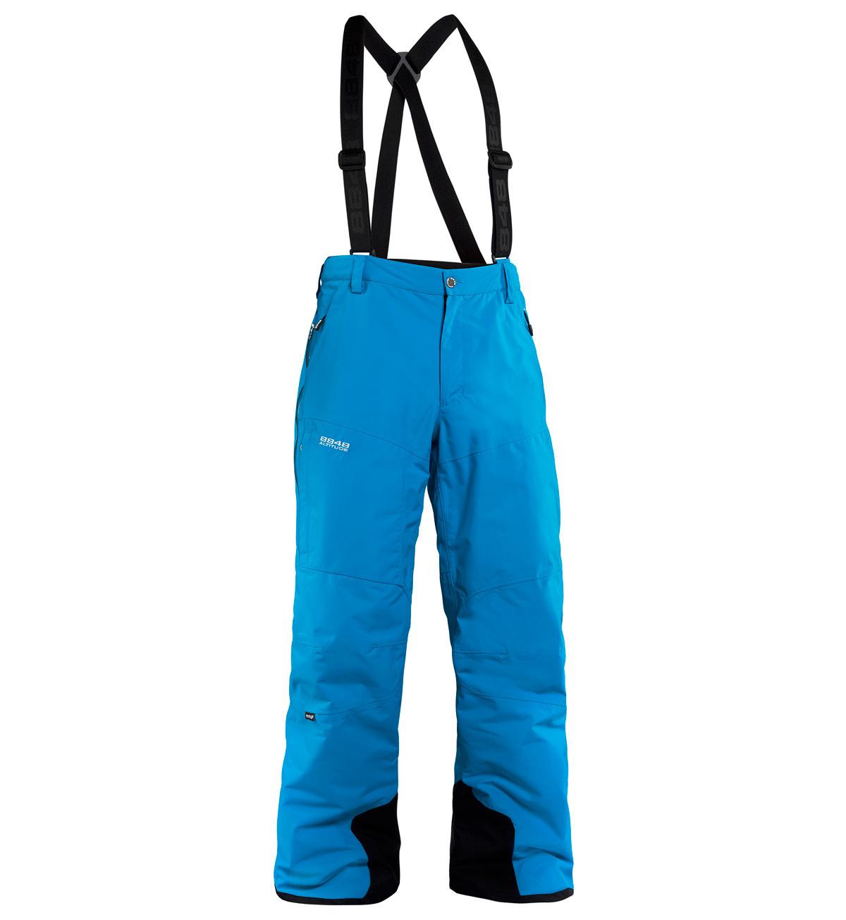 Мужские горнолыжные брюки 8848 Altitude ZIG  Turqouise (773506)