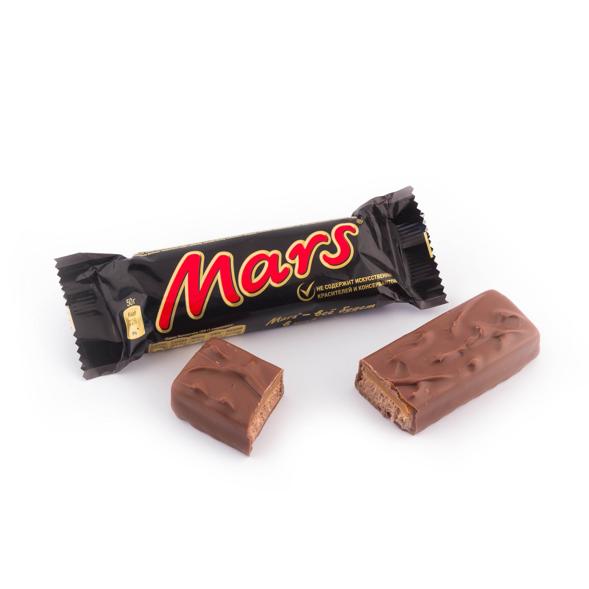 марс шоколад фото