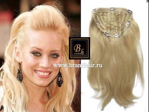 Набор волос Easy Hair-Оттенок 613-блонд прямые волосы-60 CM