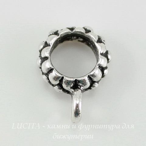Бейл TierraCast 14х10х4 мм (цвет-античное серебро) ()