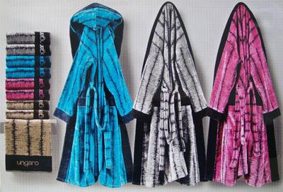 Элитный халат велюровый Wood от Emanuel Ungaro