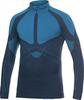 Рубашка Craft Warm Zip мужская темно-синяя