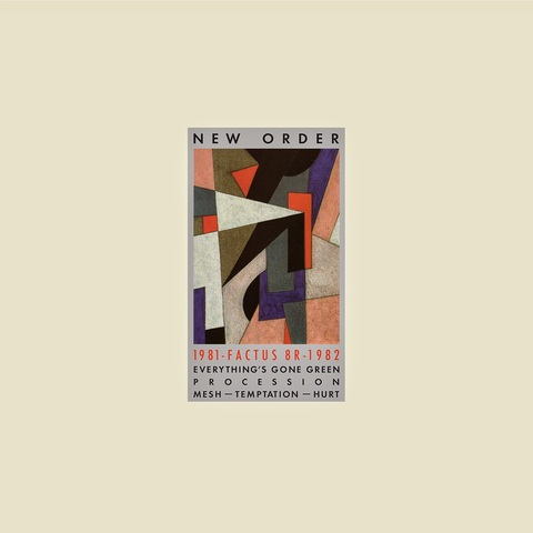 New Order / 1981-1982 (Single)(RSD)(Coloured Vinyl)(12