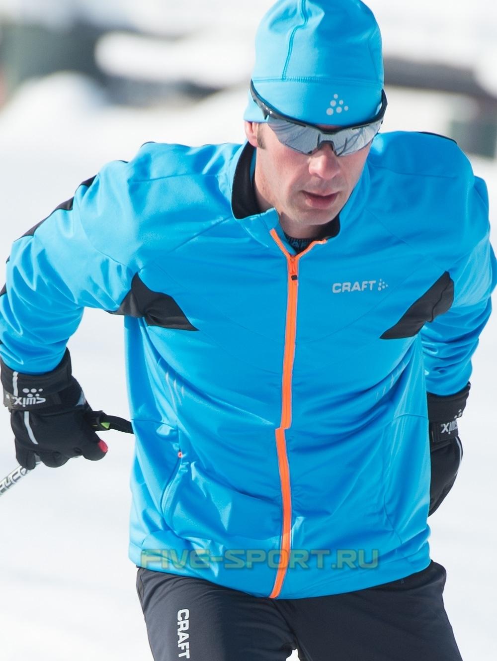 Лыжная куртка Craft PXC High Performance мужская Blue
