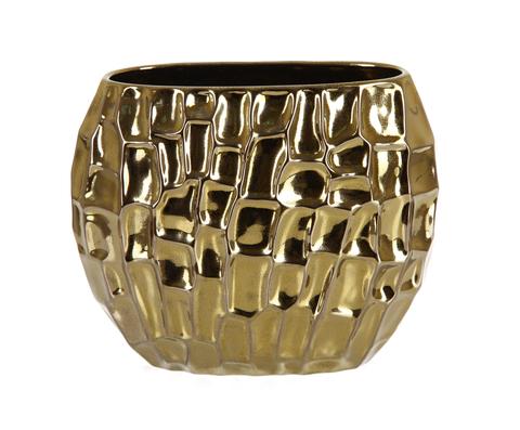 Элитная ваза декоративная Терсейра золотая от Sporvil