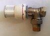 """Термостатический клапан для радиаторов 1/2"""" Comap угловой."""