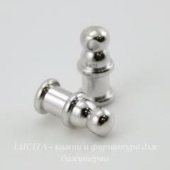 Концевик для шнура 2 мм TierraCast