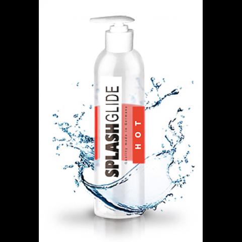Согревающий гель-лубрикант на водной основе SPLASHGLIDE HOT STIMULATIVE