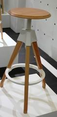 стул барный деревянный  02-39 ( by Mario Forti )