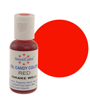 Краска для шоколада AmeriColor  RED, 19 гр.