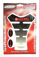 Наклейка на бак TankProtectionSystem PRO GRIP YAMAHA Black/White #12