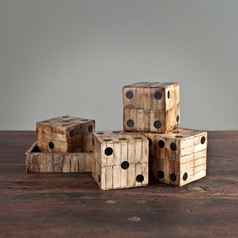 Статуэтка Кости игральные от Roomers