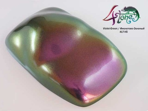 Краска Bugtone 4Tone Violet-Green хамелеон фиолетовый-зеленый крупная зернистость,прозр.120мл