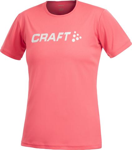 Футболка Craft Active женская розовая