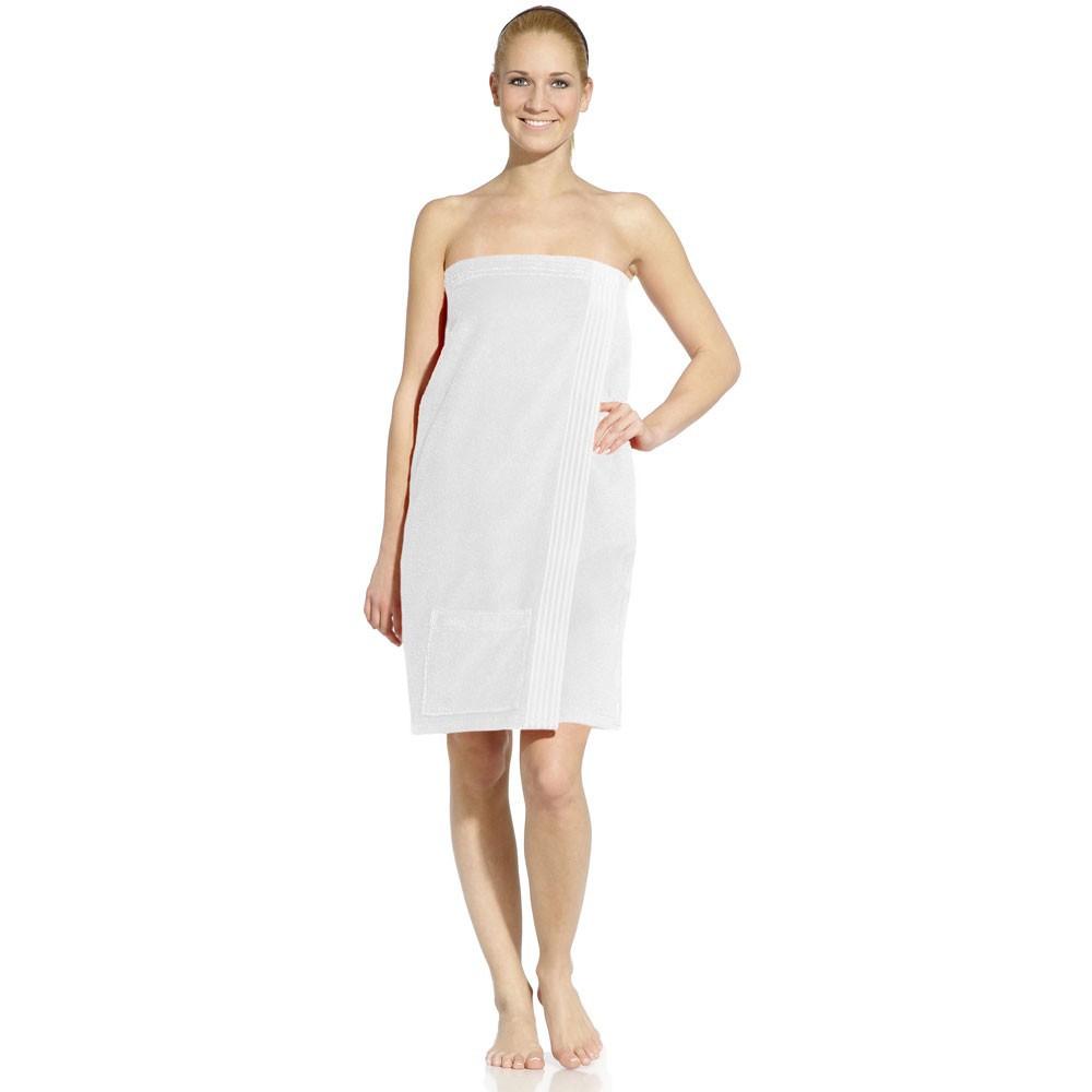 Элитный килт для сауны женский TRAP white от Vossen