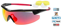 Солнцезащитные очки goggle RAZOR black/red