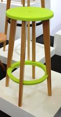 стул барный деревянный  02-40 ( by Mario Forti )