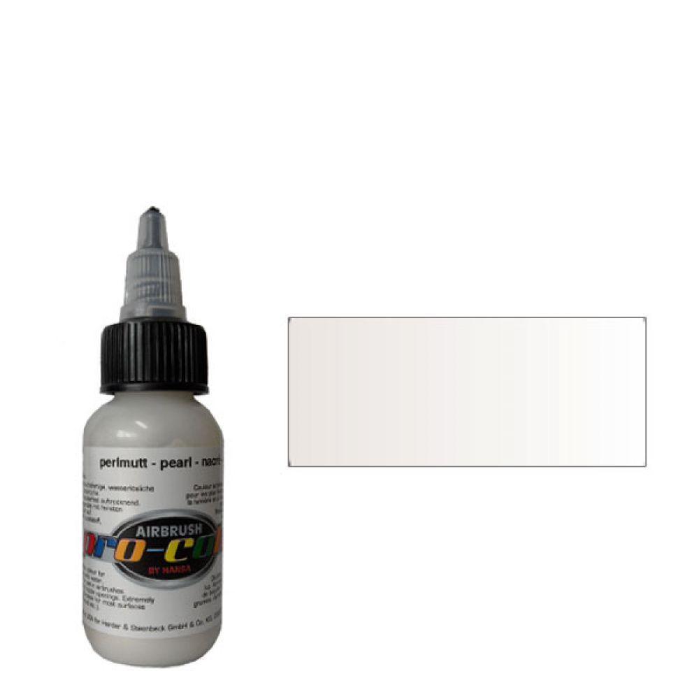 63064 Краска для аэрографии Pro-Color Pearl (ПЕРЛАМУТР) 30мл. металлик