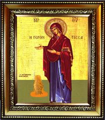 Геронтисса Икона Божьей Матери на холсте